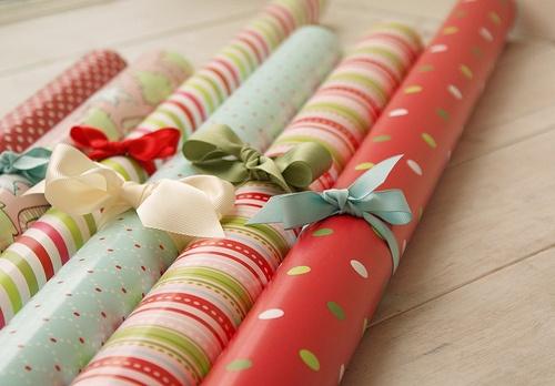 Gift wrapper obsessionnnn ?