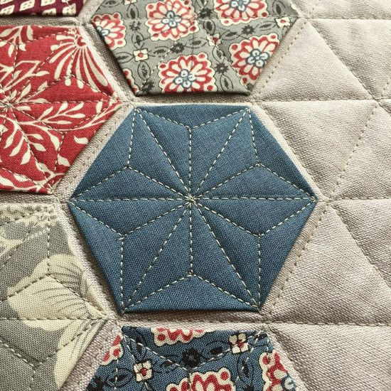 Love the quilting on