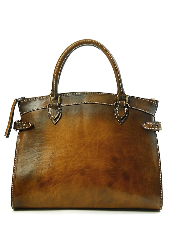 leather tote?