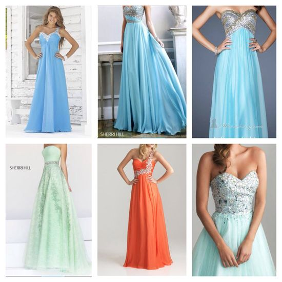 Love these beautiful dresses