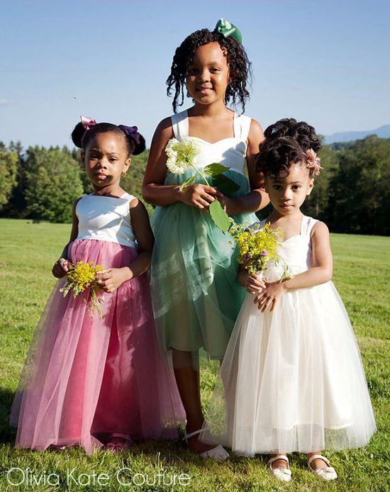 Flower girls, flower girls, flower girls...