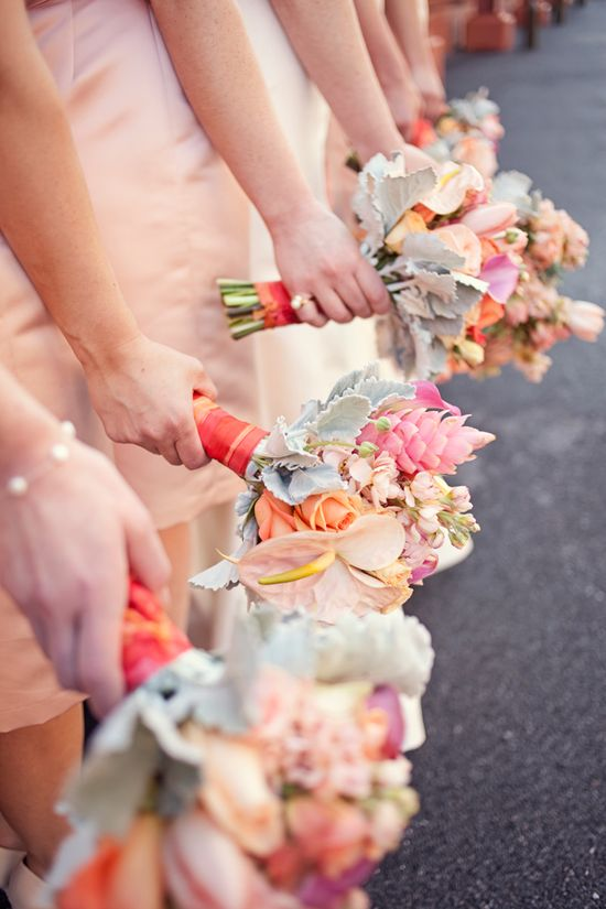beautiful bridesmaid bouquets.