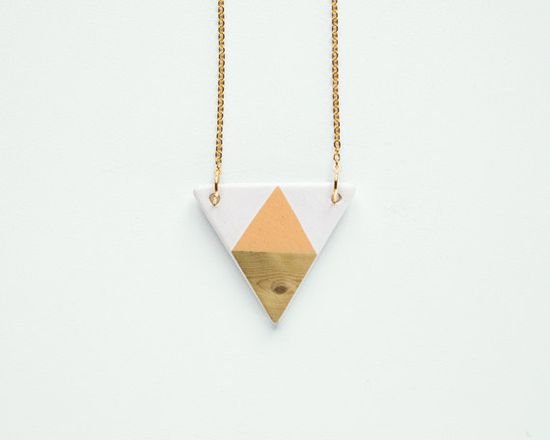 Geometric Ceramic necklace