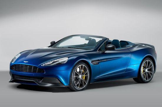 The Super Sexy Aston Martin Vanquish Volante
