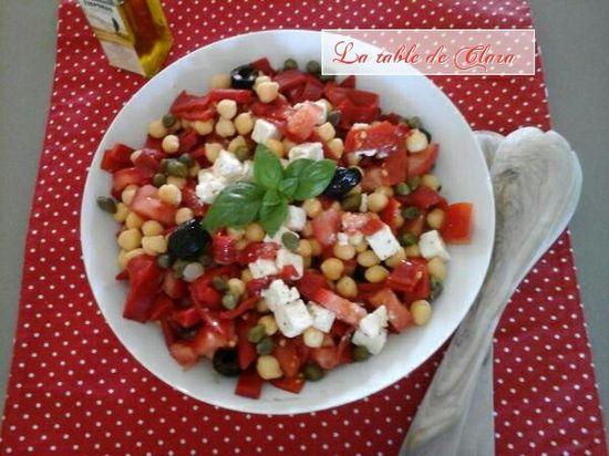Salade de pois chich