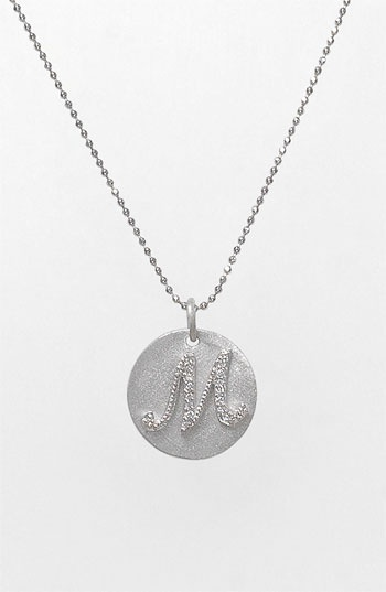 Bony Levy Diamond Initial Pendant Necklace (Nordstrom Exclusive) available at #Nordstrom