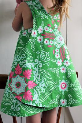 Wrapped pinafore summer dress tutorial or as a top?