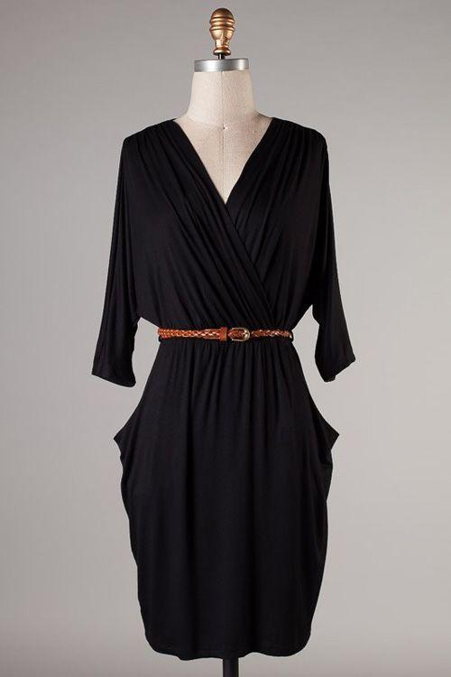 Alden Dress in Black