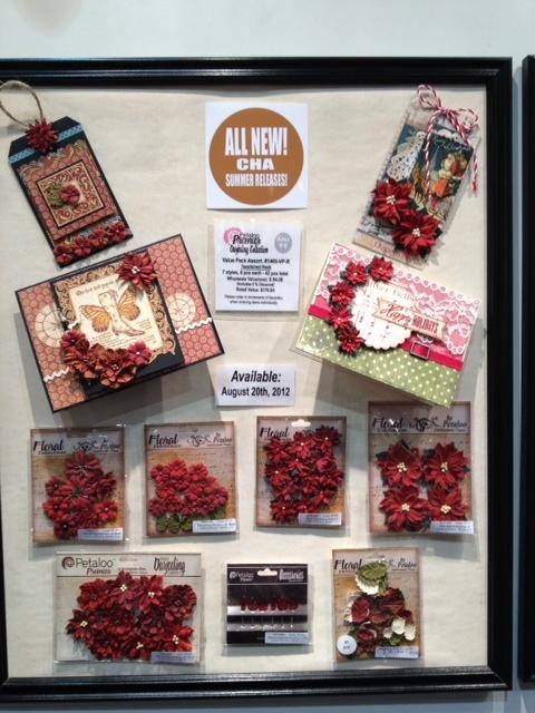 *Coming Soon* Brand New Petaloo Christmas Florals (2) - Scrapbook.com