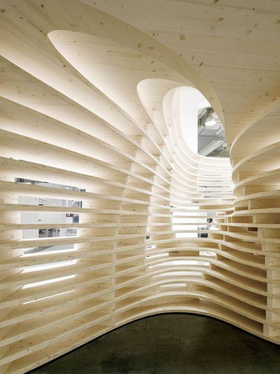 Lignum Pavilion - Frei + Saarinen Architekten / #architecture #structure #design