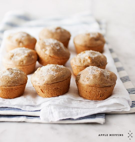 apple muffins / loveandlemons.com