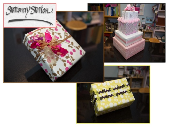 2012 Scotch Most Gifted Wrapper Stationery Station as featured on ConfettiStyle