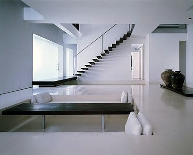 Interior view of the Teng House in Singapore by architects Scda _