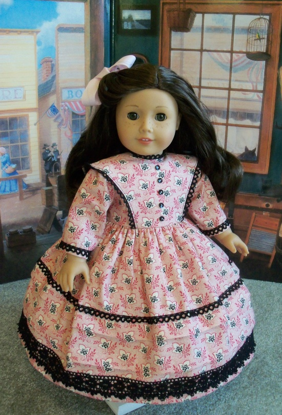 Cecile,Marie-Grace Afternoon Dress / clothes for American Girl Doll