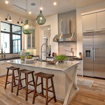 Cat Mountain, Greenbelt Homes, Austin TX - eclectic - kitchen - austin - Greenbelt Homes