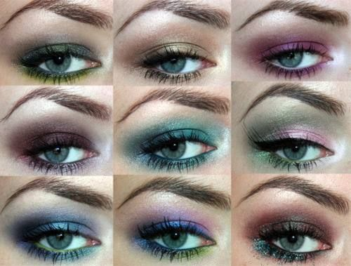 cool eye makeup!