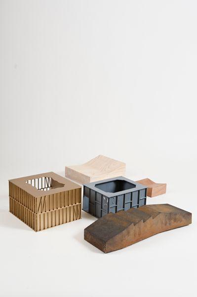 // Emilio Marin architectural models
