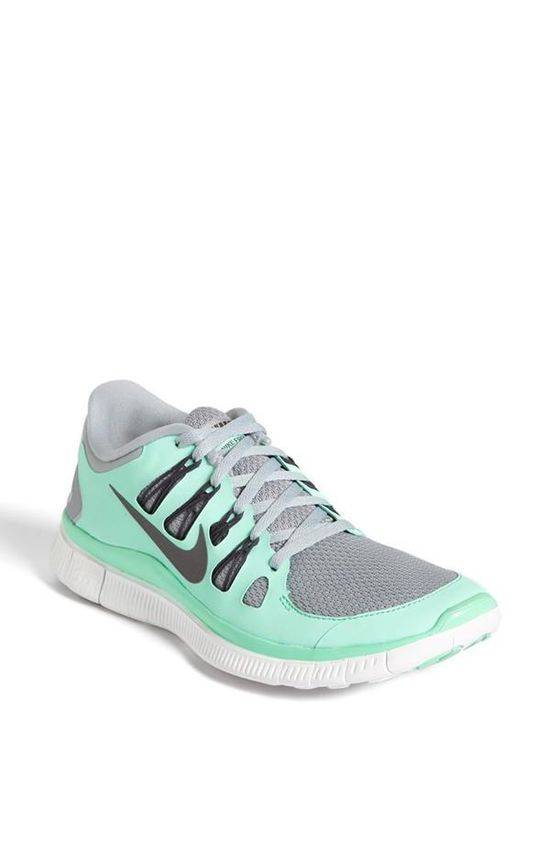Mint Nike Free 5.0 Running Shoe