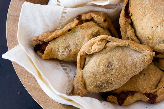 Turkey, Cheddar and Apple Hand Pies