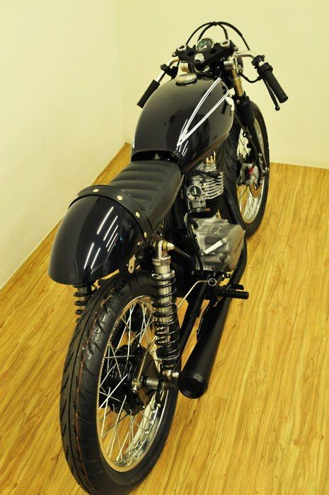 -I would keep this cafe racer in my living room too