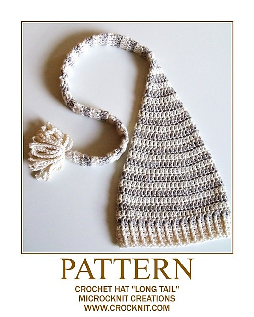 Crochet Baby Elf Hat Pattern  for Tedy's Christmas Pictures