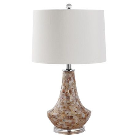 Found it at Wayfair - Kobe Shell Table Lamp in Cream (Set of 2)