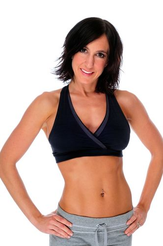 Sculpt that Belly with this #workout - jumping jacks, squat thrusts, high knees, and push ups