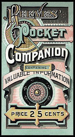 Pocket Companion: Vintage Typography