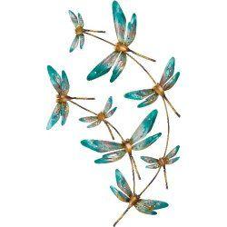 44 Dragonfly Wall Art Ideas, Dragonfly Bathroom Wall Decor