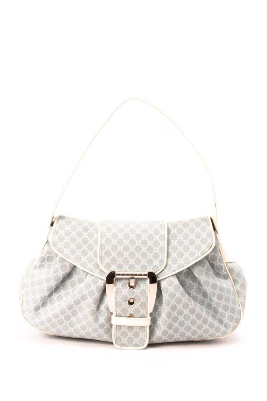 Vintage Celine Cotton Handbag