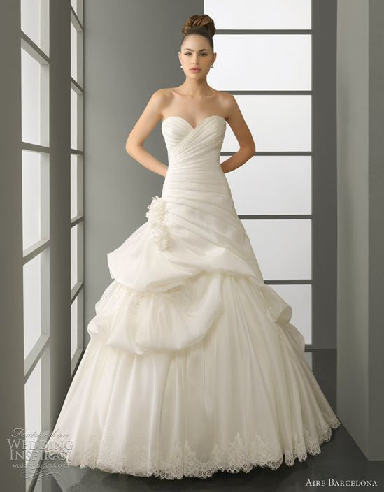 aire barcelona 2012 bridal collection