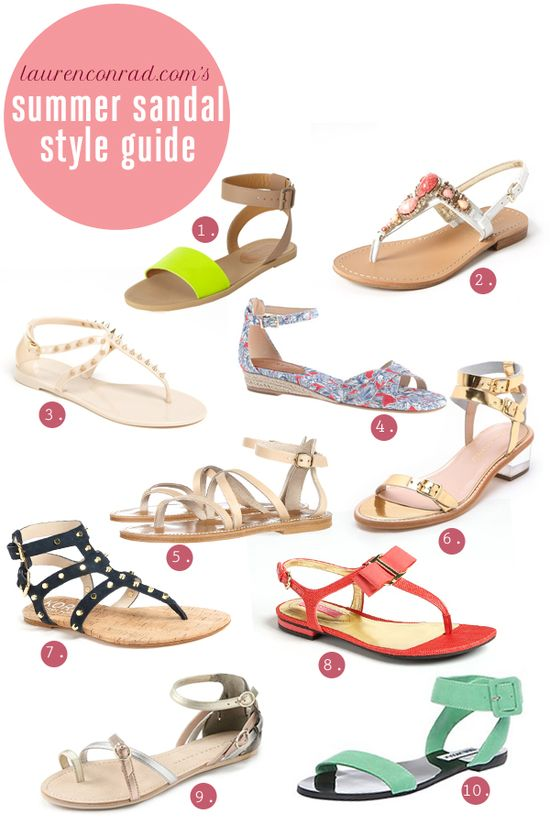 summer sandal style guide