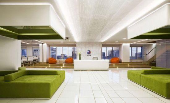 colorful office interior design