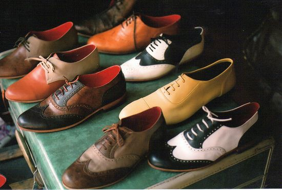 Men's Saddle Shoes