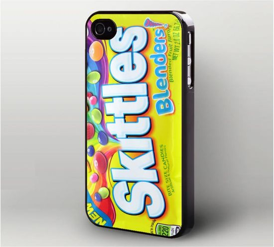 Skittles Candy Blenders Wrapper iPhone 4 Case, iPhone