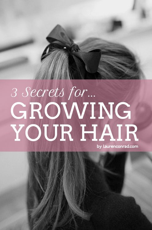 how to grow hair faster for girls