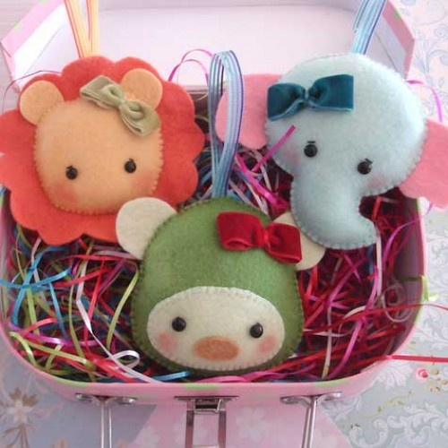 Animal Crackers Baby Toys Sewing Patter