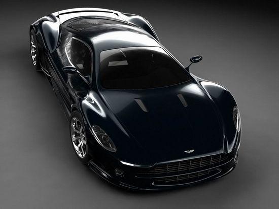 Sinister Black Aston Martin Supercar. WOW!