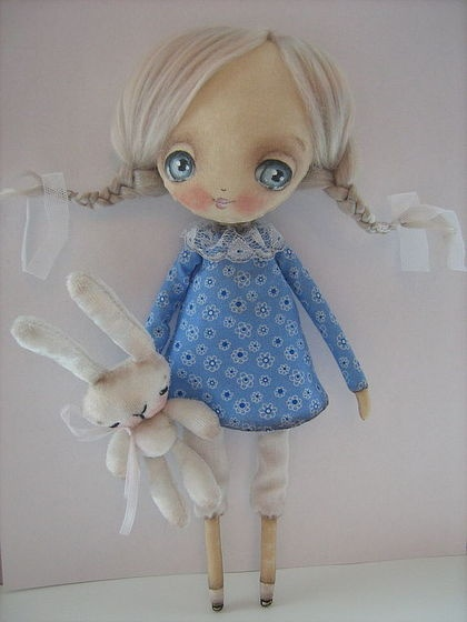 Scented handmade doll