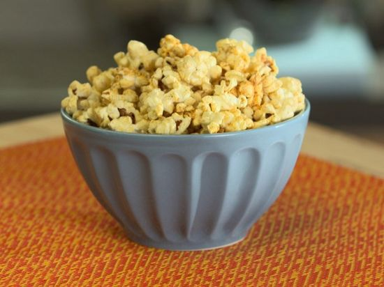 Nacho Cheesy Popcorn : Recipes : Cooking Channel