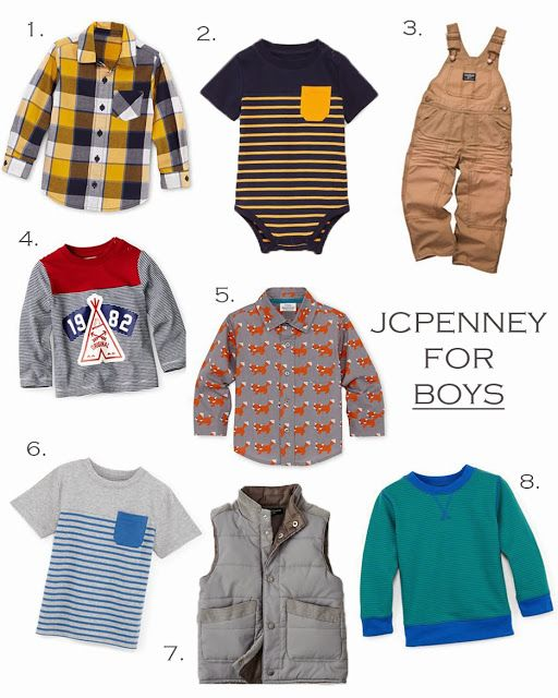 Baby Boy Fashion @JCPenney #jcpenney