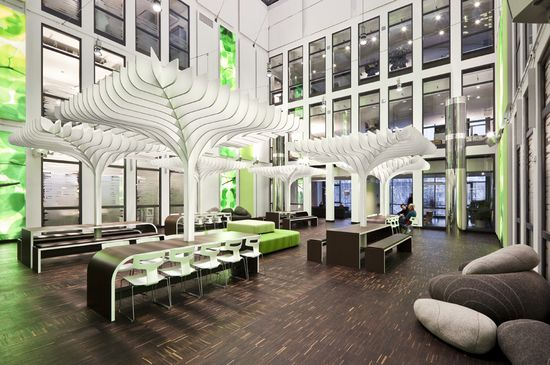 MTV Networks Headquarters Office in Berlin, Germany