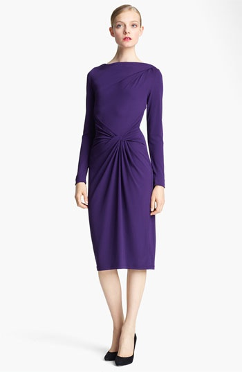 Michael Kors Asymmetrical Twist Jersey Dress available at #Nordstrom