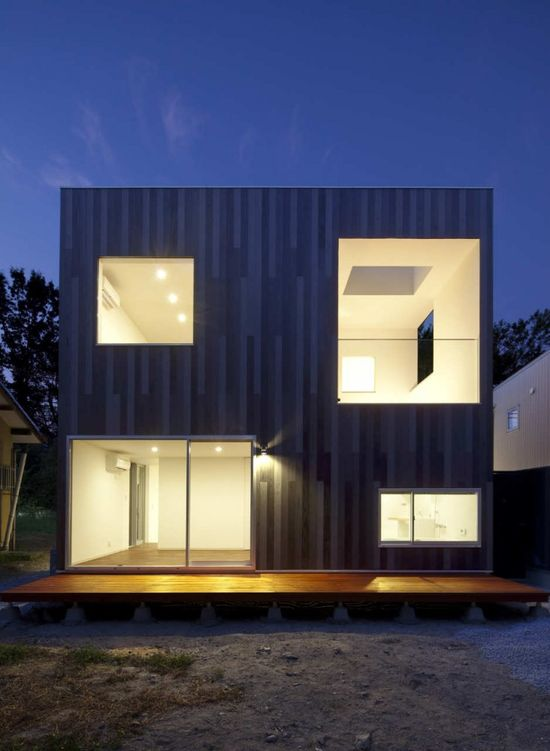 ::ARCHITECTURE:: N-House by TOFU