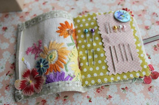 super cute needle book