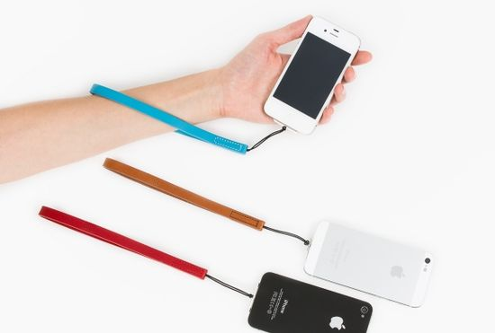 iPhone wrist strap on Cool Mom Tech