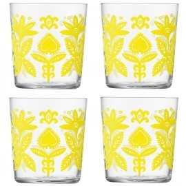Folklore water glasses