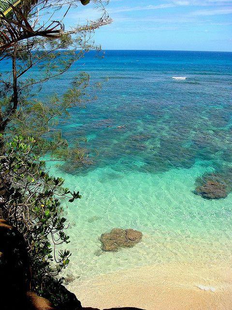 Hideaways Beach, Kauai - favorite beach on kauai besides tunnels!