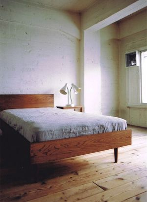Bed by Truck Furniture Japan