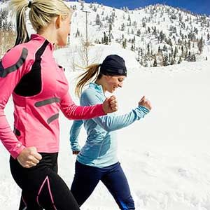 tips for running in the winter with Luv-Handlz!
